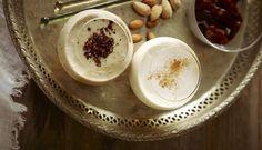 Sky High, Hummus, Panna Cotta, Ethnic Recipes, Food, Dulce De Leche, Essen, Meals, Yemek