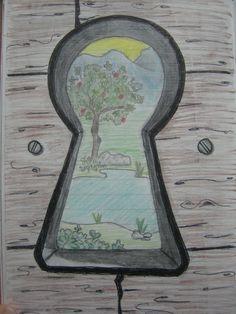 keyhole drawing - Google Search