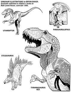 Waaaay back in the mid-to-late 1990's, when I was a youngun, just getting started in my career, my first pieces of published art were Dinosaur illustrations, appearing in children's books and small...