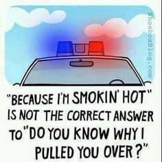 Smoking hot cops police, do you know why I pulled you over