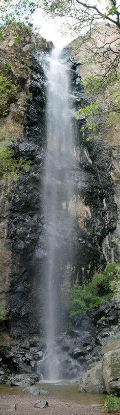 Pine Canyon Falls in Big Bend NP, Texas