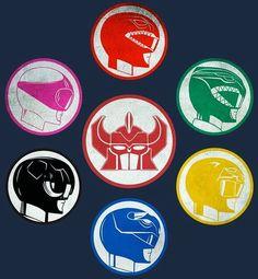 'Dino Power' T-Shirt by CreativeSpero Power Rangers Movie 2017, Power Rangers Zeo, Power Rangers Megazord, Power Rangers Toys, Go Go Power Rangers, Mighty Morphin Power Rangers, Powe Rangers, Gi Joe, Power Ranger Party
