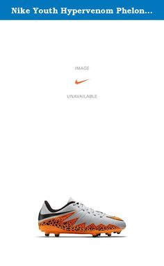 Nike Youth Hypervenom Phelon Ii Firm Ground [WOLF GREY/BLACK/TOTAL ORANGE] (10C). Nike Junior HyperVenom Phelon II (FG) Kids' Firm-Ground Football Boot (10c-6y) ENHANCED AGILITY AND TOUCH. Nike Junior HyperVenom Phelon II (FG) Kids' Firm-Ground Football Boot (10c-6y) is built for unrivaled agility on the pitch with an anatomical fit that locks down your foot. A textured, leather-like upper enhances ball touch for maximum control. The anatomical design creates a glove-like fit that enables...