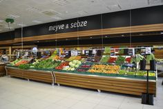 Supermarkets design