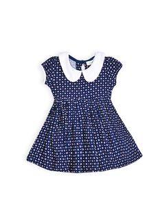 Pumpkin Patch - dresses - cap sleeve dress - medieval blue - 0-3m to 12-18m