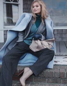 Toni Garrn for Vogue Ukraine by Benny Horne