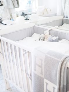 Baby boy nursery: Cozy weekend with bébé