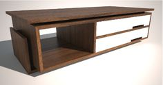 Modern Coffee Table - Design DCA Furniture