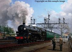 Copyright sample of painting - Camelot at Basingstoke - Malcolm Root G.R.A.