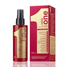 Revlon Professional Uniq 1 All In One Hair Treatment is the first leave-on mask on the market that offers the 10 main benefits that the hair needs. The ideal partner for every day use for the best stylists and their most demanding customers.