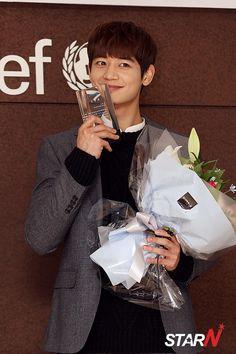 141205 Minho - Attending Unicef 'Uni Heroes Campaign