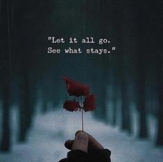 See what stays. - Motivational Quotes with Deep Meaning quotes quotes deep quotes funny quotes inspirational quotes positive Soul Quotes, Wisdom Quotes, Words Quotes, Sayings, The Words, Positive Quotes, Motivational Quotes, Inspirational Quotes, Positive Vibes