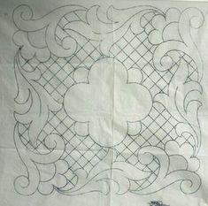 Machine Quilting Patterns, Quilting Templates, Quilt Patterns, Embroidery Transfers, Embroidery Stitches, Embroidery Patterns, Whole Cloth Quilts, Quilt Stitching, Patch Quilt