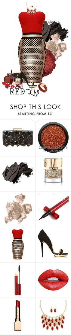 """""""Red Lip"""" by duci ❤ liked on Polyvore featuring Michael Kors, Bobbi Brown Cosmetics, Smith & Cult, By Terry, Charlotte Olympia, Kevyn Aucoin, Nevermind, Mixit and Tory Burch"""