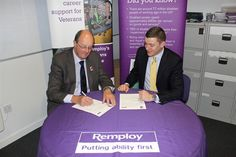 We've signed a new partnership with #Remploy to help wounded Veterans into employment after serving. For more information visit http://www.blindveterans.org.uk/news-resources/latest-news/2013/01/remploy-and-blind-veterans-uk-sign-a-new-partnership/