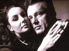 Elizabeth Taylor & Richard Burton by Bert Stern