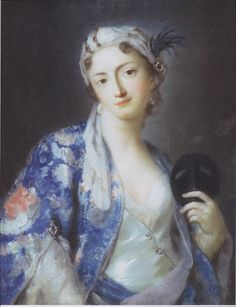 Woman in Turkish Costume by Rosalba Carriera