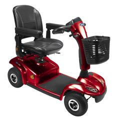 Invacare Leo 4 Wheel Product - Red