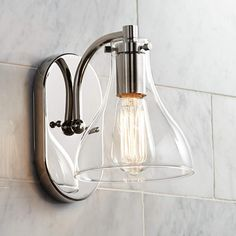 Possini Euro Sorren 8 High Polished Nickel Wall Sconce is a quality Bathroom Lighting for your home decor ideas. Led Bathroom Lights, Bathroom Wall Sconces, Bathroom Light Fixtures, Bathroom Lighting, Master Bathroom, Modern Vanity Lighting, Hall Bathroom, Bathroom Flooring, Kitchen Lighting