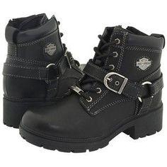 Women's Harley Davidson Tegan Motorcycle Boots <3 #ad