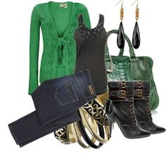 Love this outfit, but would change the color of the sweater...love love love the boots!