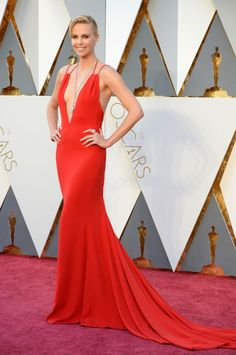 Best: Charlize Theron in Dior at the 88th Academy Awards on Feb. 28, 2016 in Hollywood, California.