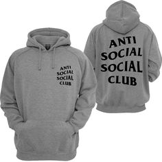 6ab271eecc25 Anti Social Social Club Mind Games Hooded Sweatshirt