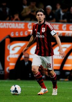 45ff5e6e163 Riccardo Montolivo of AC Milan in action during the Serie A match between AC  Milan and US Sassuolo Calcio at San Siro Stadium on May 2014 in Milan