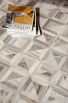 LOVE this marble pattern.