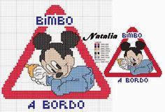 schema punto croce bimbi a bordo 2   Hobby lavori femminili - ricamo - uncinetto - maglia