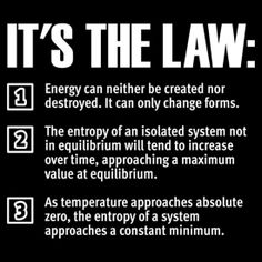"law of thermodynamics The laws of thermodynamics"" T-Shirts & Hoodies by FrontierMM . Physics Laws, Learn Physics, Theoretical Physics, Physics And Mathematics, Quantum Physics, Basic Physics, Chemistry Notes, Science Chemistry, Science Facts"