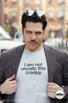Maybe a shirt for this Movember...