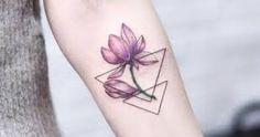 Image result for tattoos on inner arm purple flower