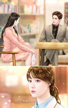 My Secret Romance Episode Playing With My Heart Korean Anime, Romance, Anime Version, Kawaii, Secret Love, Episode 5, Love Couple, Aesthetic Art, Anime Love