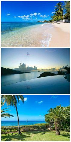Picturesque Travel Destination. Views from the Island #StThomas #WimcoVillas #VirginIslands #Caribbean