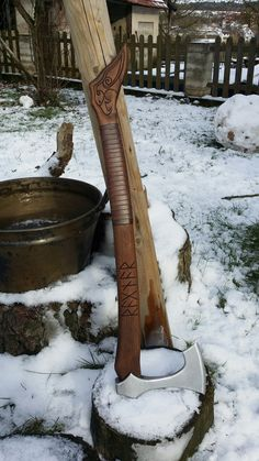 Baltic Viking axe