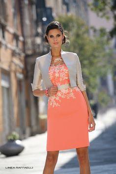 Linea Raffaelli Mother of the Bride | linea raffaelli spring summer 14 lr100 linea raffaelli coral and