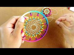 Dream Catcher Tutorial, Dots, Diy Crafts, Homemade, Dreamcatchers, Yarn Crafts, Handmade Crafts, Craft Ideas, Head Bands