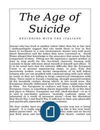 The Age of Suicide