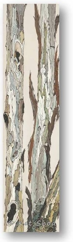 """Museum quality fine art giclee reproduction of original acrylic painting with archival ink: 12"""" x 48"""" x 0.75"""" on stretched canvas – LOVE!!!"""