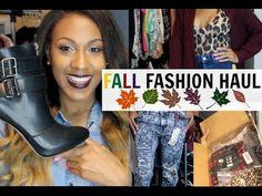 FALL FASHION HAUL 2014 - YouTube