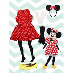 minnie mouse costume! •red and white polka dot dress •yellow shoes (flats work best, but sneakers are more comfortable for walking all night.) •black tights •mouse headband with bow (can be easily made or bought for $10) •long black gloved that pass sleeves or black long sleeve shirt under dress •short white gloves, you can also add the three mickey mouse lines -----❤️----- alot of people have commented saying post more, so, please request! i havent posted because i wasnt sure of a costume…