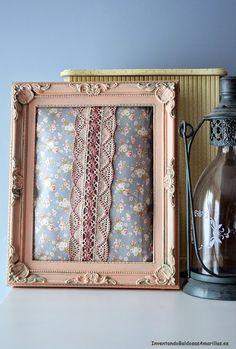 Tutorial paso a paso decorar marcos vintage