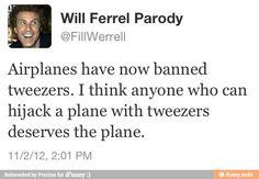 Will ferrel tweets!!!