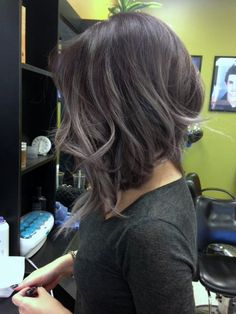 Photo of Kinh Do Hair Design By Holly - Chandler, AZ, United States. Balayage Ombre' Lavender  By HOLLY