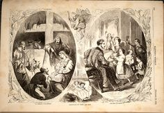 Christmas Then & Now.  Harper's Weekly.  December 22, 1860.
