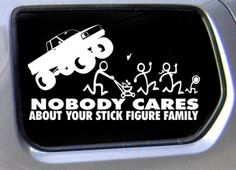 Nobody Cares About Your Stick Figure Family (Photos)