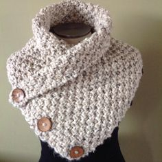 A personal favorite from my Etsy shop https://www.etsy.com/ca/listing/266148003/oatmeal-knit-scarf-neck-warmer-chunky
