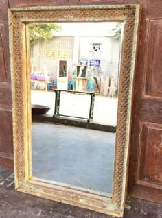 Temple Doorway Mirror, Gujarat