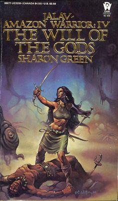 626 Sharon Green The Will of the Gods Ken W. Kelly May-85 Jalav/Amazon Warrior #4